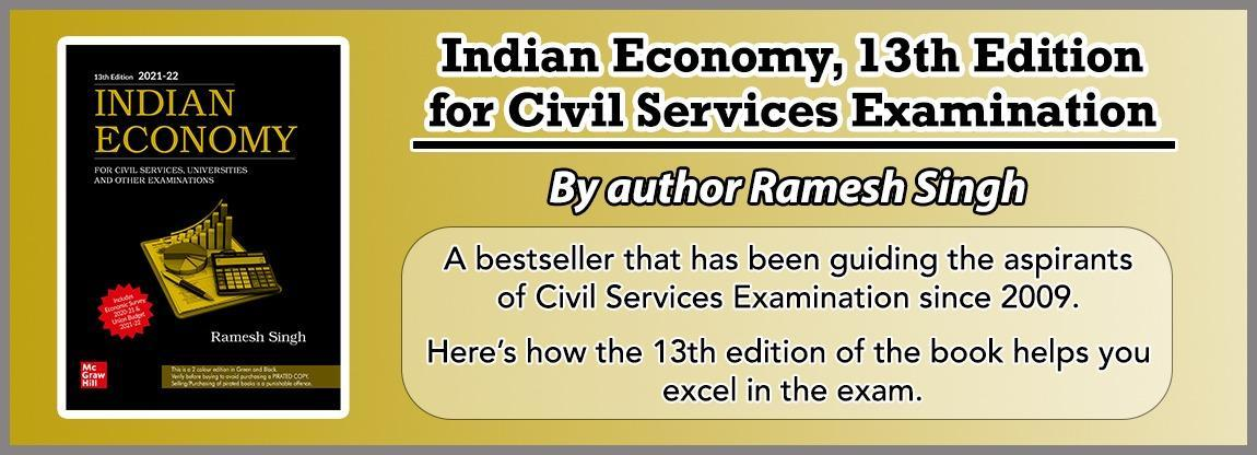 Indian Economy, 13th Edition: For UPSC Civil Services Examination