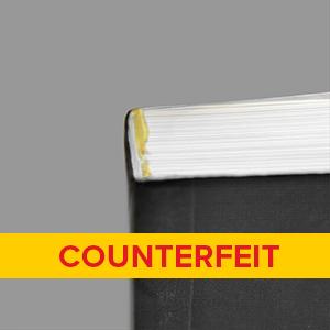 Counterfeit book
